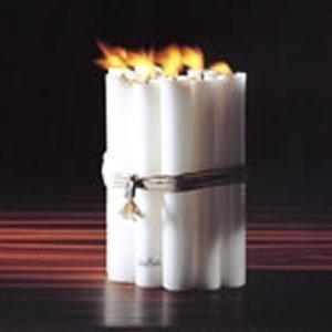 Rosenthal Candle Light Kynttilä 3 Valkoinen 2x20 Cm