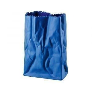 Rosenthal Tütenvase Maljakko Deep Blue 18 Cm