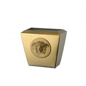 Rosenthal Versace Medusa Gold Maljakko Kulta 18 Cm