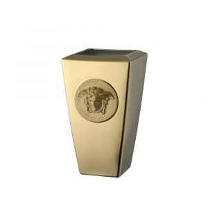 Rosenthal Versace Medusa Gold Maljakko Kulta 24 Cm