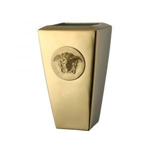Rosenthal Versace Medusa Gold Maljakko Kulta 32 Cm