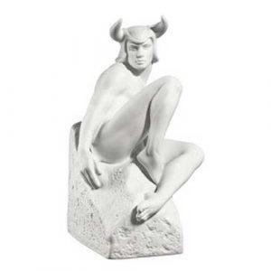 Royal Copenhagen Male Zodiacs Härkä Valkoinen