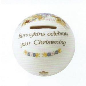 Royal Doulton Bunnykins Christening Säästölipas