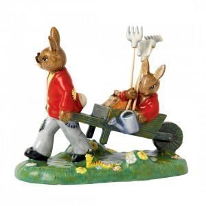 Royal Doulton Bunnykins Cuthbert In The Garden 12 Cm