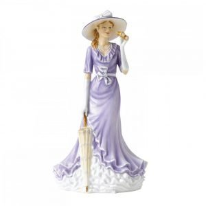 Royal Doulton Figure Of The Year 2014 Happy Birthday 22 Cm
