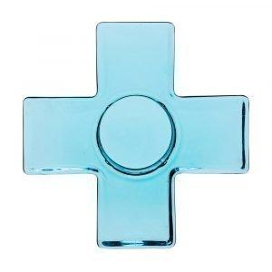 Sagaform Cross Kynttilälyhty Sininen