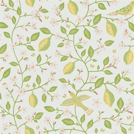 Sandberg Wallpaper Amalfi Tapetti Vaaleanvihreä
