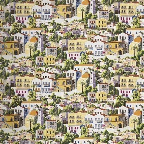 Sandberg Wallpaper Dodecanese Valokuvatapetti Monivärinen