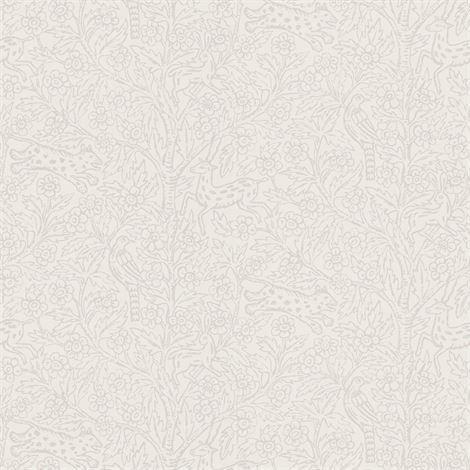 Sandberg Wallpaper Eden Tapetti Vaaleanharmaa