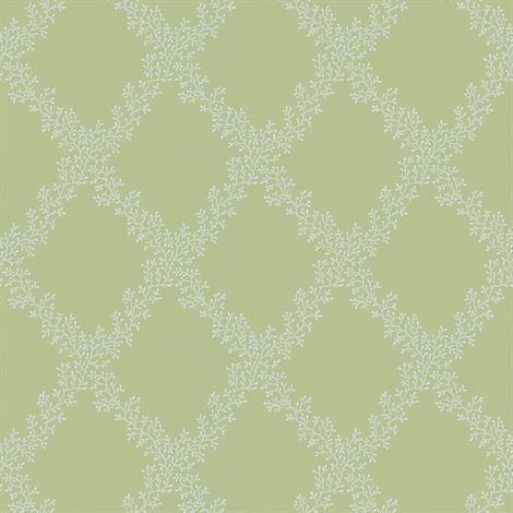 Sandberg Wallpaper Gilda Tapetti Vaaleanvihreä