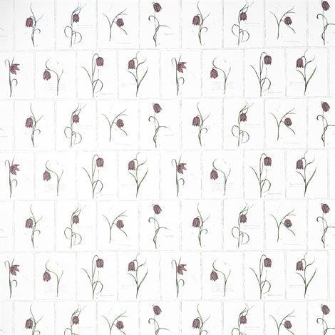 Sandberg Wallpaper Lilja Tapetti Vaaleanpunainen