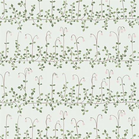 Sandberg Wallpaper Linnea Tapetti Vaaleanvihreä