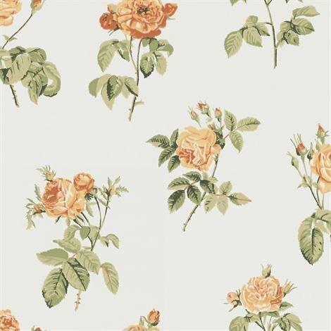 Sandberg Wallpaper Vaaleanpunainennna Tapetti Vaaleankeltainen