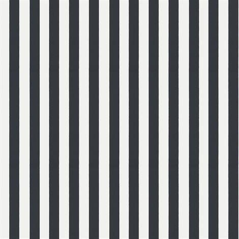 Sandberg Wallpaper William Tapetti Musta-Valkoinen