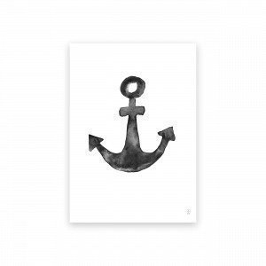 Sb Studio Anchor Juliste 42x30 Cm