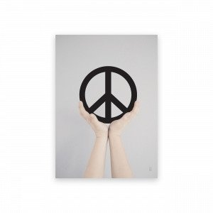 Sb Studio Give Peace A Chance Juliste 30x42 Cm