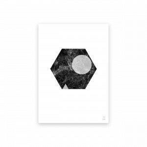 Sb Studio Marble Marvel 09 Juliste 42x30 Cm