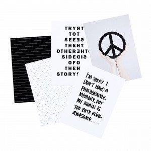 Sb Studio Peace Juliste 15x10 Cm