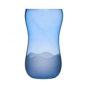 Sea Glasbruk Aqua Wave Maljakko Iso Sininen