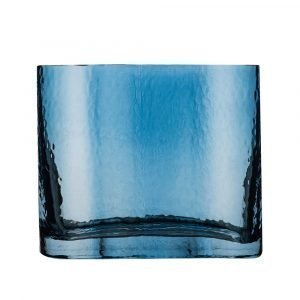 Sea Glasbruk Siluett Maljakko Sininen