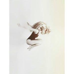 Selected By Walnutstreet Ballerina On White Juliste 30x40 Cm