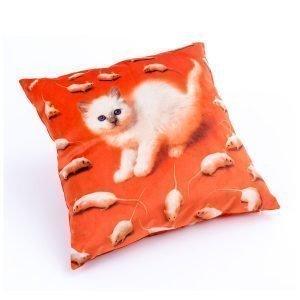 Seletti Toiletpaper Tyyny Kitten 50x50 Cm