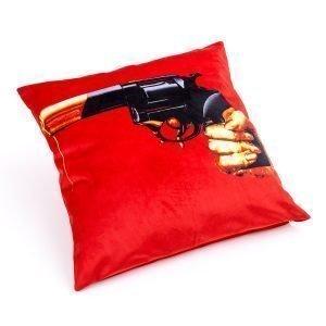 Seletti Toiletpaper Tyyny Revolver 50x50 Cm