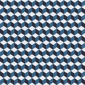 Sementtilaatta Zakaria Sininen