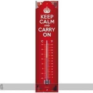 Sg Lämpömittari Keep Calm And Carry On