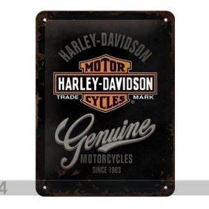 Sg Retrotyylinen Metallijuliste Harley-Davidson Motorcycles 20x15 Cm