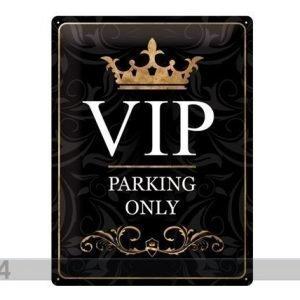Sg Retrotyylinen Metallijuliste Vip Parking Only 30x40 Cm