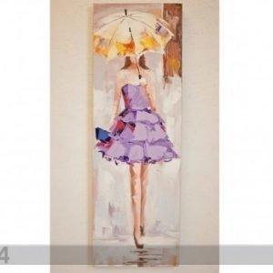 Si Öljymaalaus Lady Liilassa 120x40 Cm
