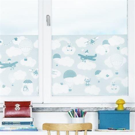 Siluett Frost Daydreaming Ikkunakalvo Turkoosi Turkoosi