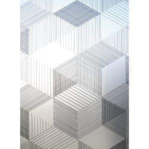 Siluett Frost Graphite Ikkunakalvo 120x48 Cm