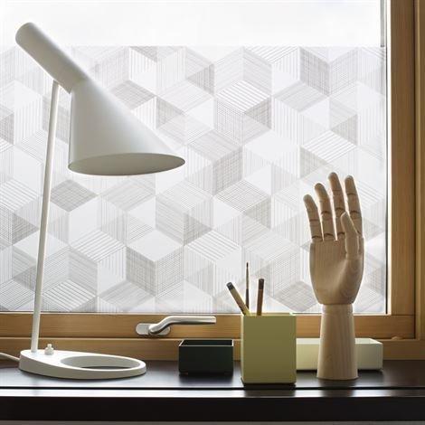 Siluett Frost Graphite Ikkunakalvo 48 x 120 cm