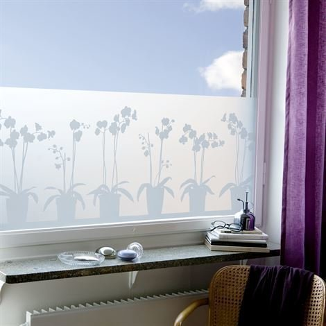 Siluett Frost Orkidé Ikkunakalvo 48x120 cm