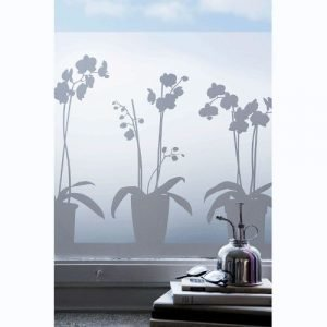 Siluett Frost Orkide Ikkunakalvo 48x120 Cm