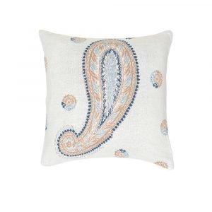 Simply Scandinavian Folklore Knit Tyyny Rockefeller Blue 50x50 Cm