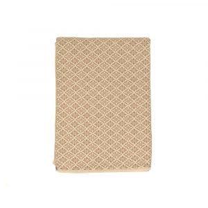 Simply Scandinavian Gotland Star Knit Huopa Truffle Beige 130x180 Cm
