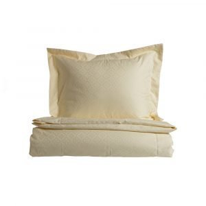 Simply Scandinavian Gotland Star Pussilakana Lemon Cream 220x220 Cm