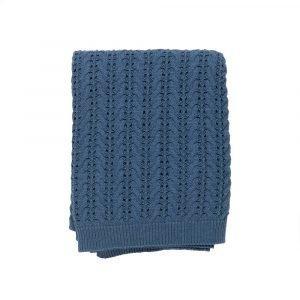 Simply Scandinavian Lace Huopa Jeans Blue 130x180 Cm