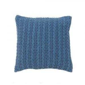 Simply Scandinavian Lace Tyyny Jeans Blue 50x50 Cm