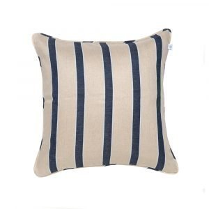 Simply Scandinavian Wide Stripe Linen Tyyny Putty 50x50 Cm