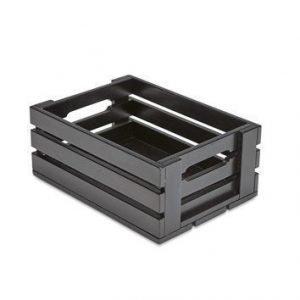 Skagerak Dania Box tammi/Musta 31x22x13 cm