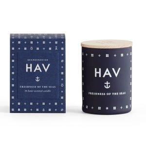 Skandinavisk Hav Tuoksukynttilä 16 H Tummansininen