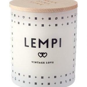 Skandinavisk Lempi Vintage Love Tuoksukynttilä 8.5 cm