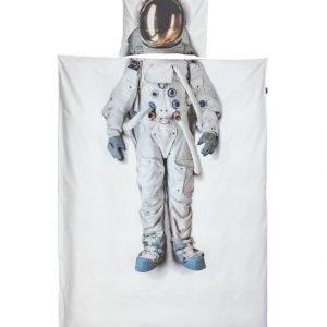 Snurk Astronaut Pussilakanasetti 150 X 210 + 50 X 60 cm