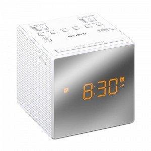 Sony Icf-C1tw Kelloradio Valkoinen