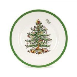 Spode Christmas Tree Lautanen 20 Cm