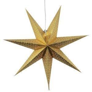 Star Trading Dot Joulutähti Kulta 70 Cm